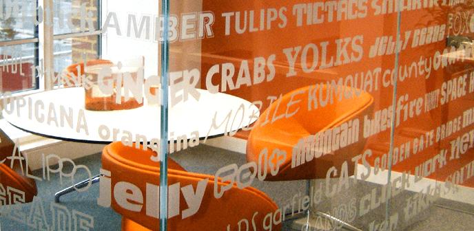 Window Graphics Services & Installation